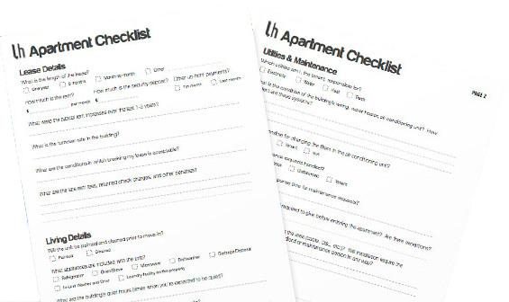 apartmentchecklist
