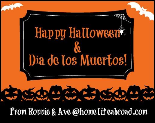 Happy Halloween & Dia de los Muertos from @homelifeabroad.com