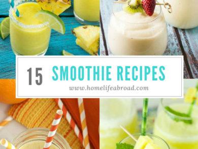 15 Smoothie Recipes