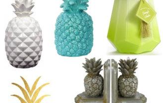 Pineapple Decor Elements