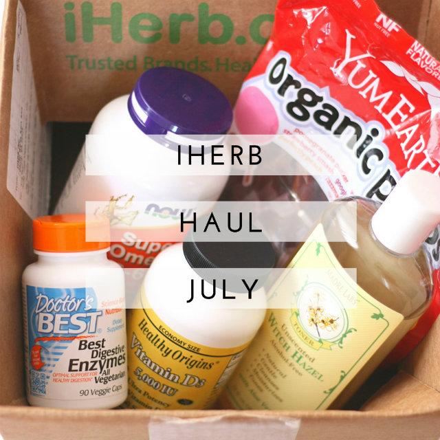 iHerb Haul July