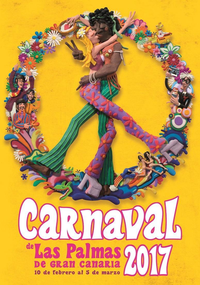 Carnaval Las Palmas Poster 2017