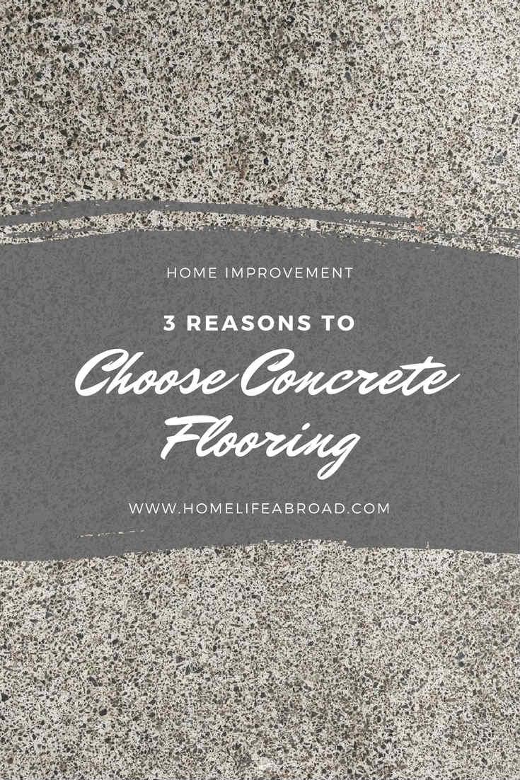choose concrete flooring